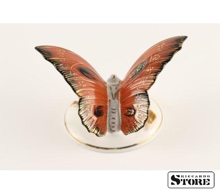 Фарфоровая статуэтка Бабочка, Алая, вид 5