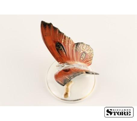 Фарфоровая статуэтка Бабочка, Алая, вид 3